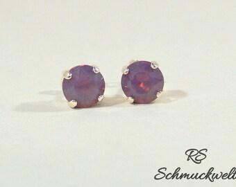 Crystal earrings, crystal earrings, Crystal opal earrings, Bridal jewelry, wedding earrings, Bridal earrings, bridesmaid gift