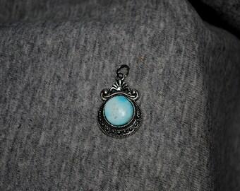 Handmade Colorado Turquoise Pendant