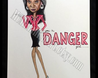 "Whoopi Goldberg ""Ghost"" Movie Quote Art Print"