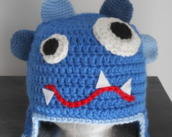 MONSTER crochet HAT