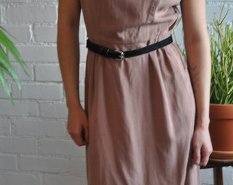 Vintage 70's Cotton Shift Dress