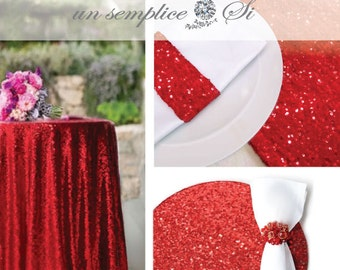 VALENTINES DAY DECOR,Sequin Tablecloth, Sequin Runner, Sequin Overlay