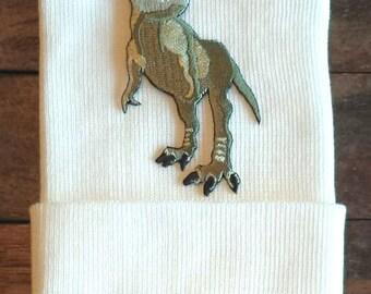 Dinosaur Newborn Hospital Hat - Newborn Dino Hat - Dinosaur Hat - Baby Hat - Dino Baby Hat - T-Rex Baby Hat - Dinosaur Hospital Hat - T-Rex
