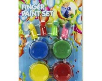 8pce Kids Finger Painting Set