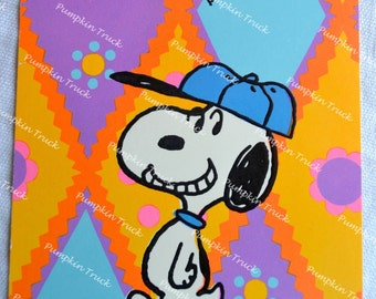 Vintage Snoopy Greeting Card - Congratulations to a Real Winner - NOS Unused 1970s