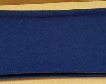 Royal Blue Fleece Scarf, Ladies Blue Scarf, Blue Mens Neck Scarf, Ladies Winter Scarves, Mens Fleece Scarf, Men Winter Scarf, Men Blue Scarf