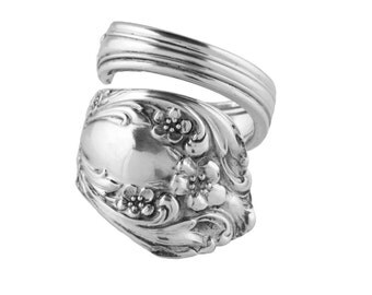 Spoon Ring, Silver Spoon Jewelry, Handmade ring, vintage ring, Spoon Jewelry, Sterling spoon ring