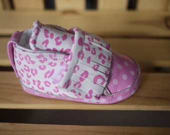 Baby Shoes, Handmade leather, girls shoes, toddler shoes, one off designs (example shown is sold so please see my shop)