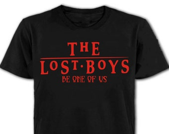 The Lost Boys Be One Of Us T-Shirt - Cult 80's Horror Movie, All Sizes/Colours