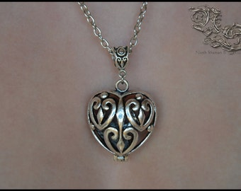 "Necklace ""Medieval Heart"""