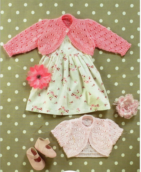 Baby Boleros Knitting Pattern Childs Bolero Girls Bolero Short