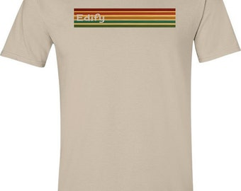 Retro t shirt- 70s tshirt, striped t shirt, cool tshirts, mens gift ideas, 70s clothing, hipster clothing, mens tshirt, uk sellers only