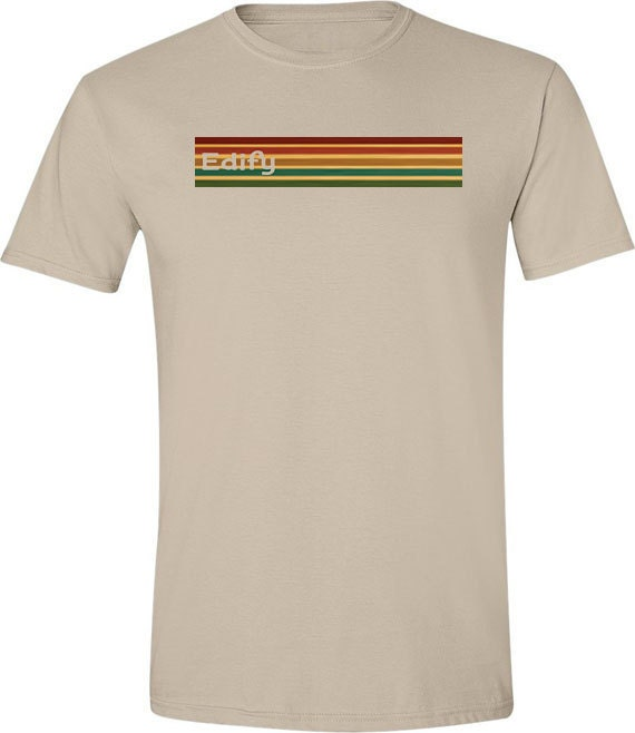 Retro t shirt 70s tshirt striped t shirt cool tshirts mens