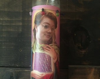 Barb Stranger Things Funny Prayer Candle, Popular prayer Candle, Funny Religious Candle, Barb Stranger Things