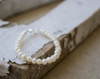 Freshwater Pearl Baby Bracelets - sizes newborn to 8 years!