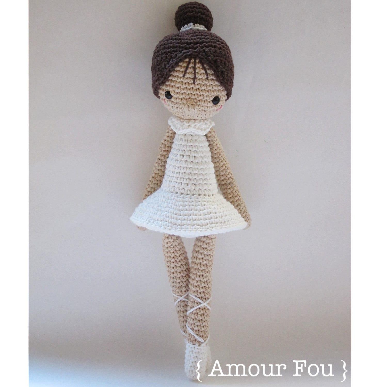 Paloma The Ballerina Crochet Pattern By Amour Fou