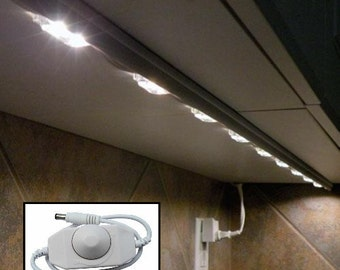 Kitchen Under cabinet Counter LED lighting + free shipping + free power supply