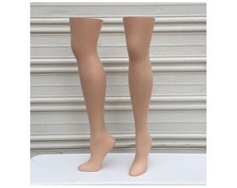 Vintage Pair of Weighted Mannequin Legs - RPM Industies Inc Shoe Form Division Legs - Plastic Mannequin - HOM-68