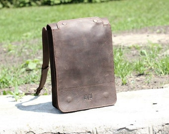 Ipad Bag - Leather Bag For Men - Leather iPad Bag - iPad Leather Bag - Crossbody IPad Bag - ipad shoulder bag - messenger bag