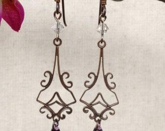 Chandelier Drop Earrings