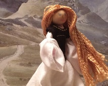 Éowyn Inspired Pipe Cleaner Doll