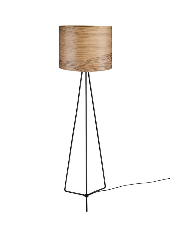 Items Similar To Wood Floor Lamp Olav Modern Lamp
