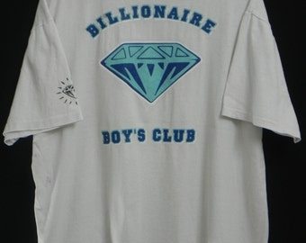 Authentic//Billionaire Boys Club//Ice Cream/Super Big Diamond Logo/Pharell William/Streetwear/Extra Large Tshirt/Made In Japan bape supreme