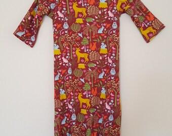 0-3 months Sleep Gown (Organic Cotton)