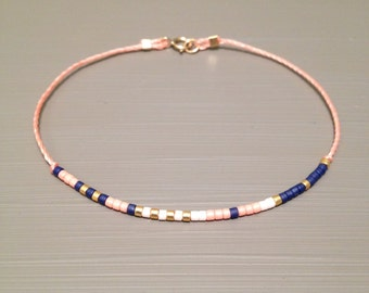 pink friendship bracelet wish bracelet best friend bracelet string bracelet