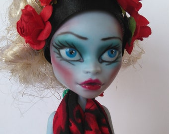 OOAK Monster High Doll- Rose-Ann