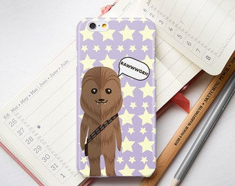 iPhone 6S Case Star Wars iPhone 6 Case Star Wars iPhone 6 Plus Case iPhone 6S Plus Case iPhone 5 5S 5C Case iPhone 4 4S Case Chewbacca Funny