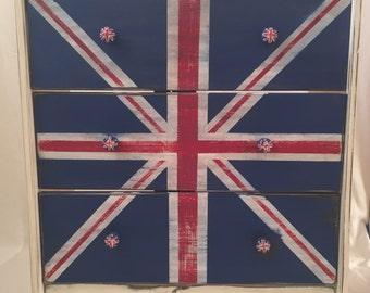 Union Jack Chest Dresser