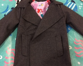 Customized Childrens Pea Coats