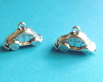 6 pcs Volkswagon Beetle Bug Car - CS2074