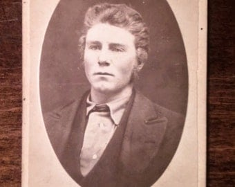 5 Antique Photographs and Cabinet Cards