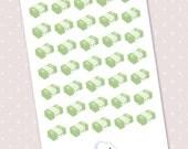 kawaii stickers - 35 cute money planner stickers kawaii payday