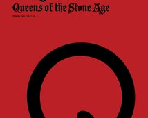 Queens of the Stone Age Poster - Songs for the Deaf - Custom Band Posters - QOTSA - Josh Homme - American Rock - Rock Gift Alternative
