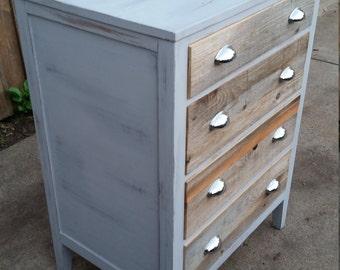 reclaimed cedar dresser