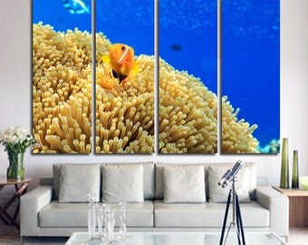 Tropical Fish Wall Art Tropical Fish Canvas Tropical Fish Wall Decor Tropical Fish Photo Tropical Fish Poster Underwater World Fish Canvas