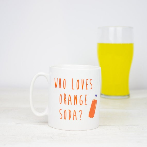 Who loves orange soda? Kenan & Kel inspired Orange Soda coffee mug