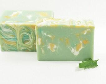 Swirled Soap, Luxury Soap, Unique Soap, Vegan Soap, Fun Soap, Fresh Floral Scent, Bestfriend Gift, Gift Idea For Her | Sage Spa Soap