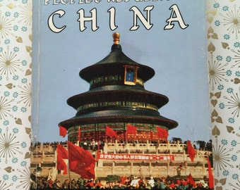 Vintage Travel Guide American's Tourist Manual People's Republic of China Paperback