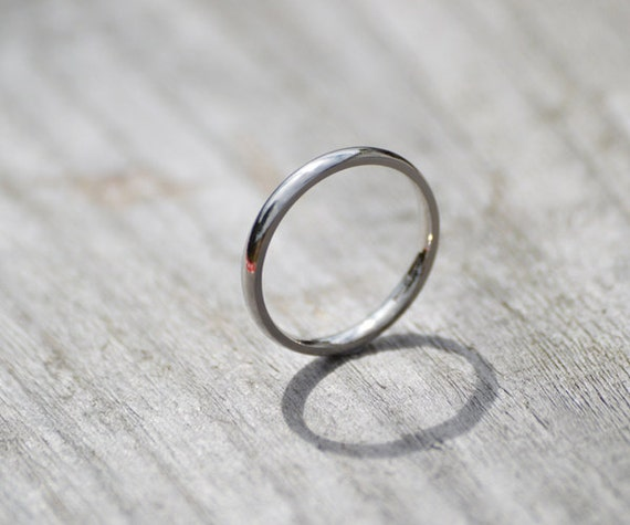 platinum wedding band platinum wedding ring 2mm wide by