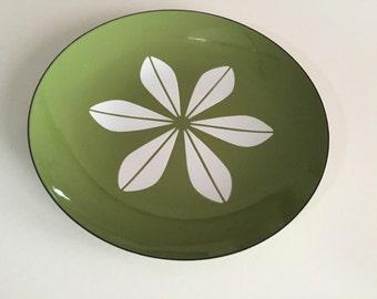 Catherine Holm LARGE 12 inch Enamelware Platter/ Danish Modern/CatherineHolm/Avocado/Mid Century/ By Gatormom13