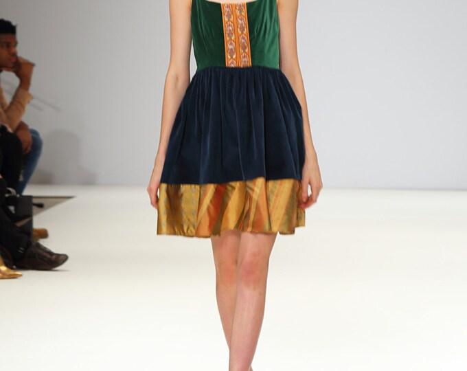 Louise: Hemp Silk Cocktail Dress