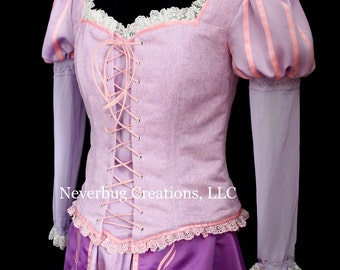 Rapunzel  Custom Costume