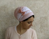 head scarf,jewish,headcover,oshrat designs,chemo head scarves,tichel apron,chemo head covering