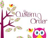 CUSTOM ORDER for autumnharrell2