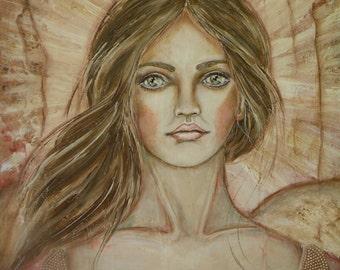 "Original painting by Lore ""Shining Faith""."