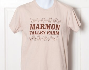 Fun Horse Farm Tshirt - MARMON VALLEY FARM - S